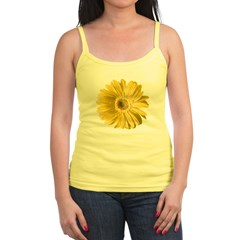 Pop Art Yellow Daisy Jr. Spaghetti Tank