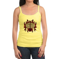 Biker T-shirt Just Ride Jr. Spaghetti Tank