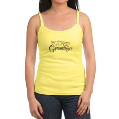 too_young_to_be_a_grandma Jr. Spaghetti Tank