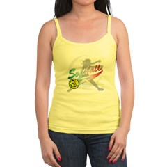Girls Softball Jr. Spaghetti Tank