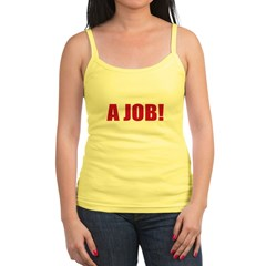 Anti Occupy wall Stree Jr. Spaghetti Tank