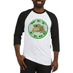 Wet Pond Frog Baseball Jersey
