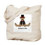 Groom to Be Wedding Tote Bag