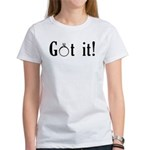 Bride Engagement Women's T-Shirt
