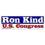 Democrat Ron Kind congressional campaign bumper sticker
