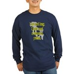 Lazy Stamina Potion Long Sleeve Blue T-Shirt