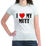Love My Mutt Jr. Ringer T-Shirt