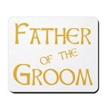 Sherbet Father of the Groom Mousepad
