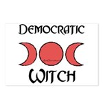 """Democratic Witch"" Postcards (8)"
