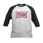Pink World's Best Mom Plaque Kids Baseball Jersey