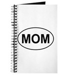 Mom European Oval Mother's Day Journal
