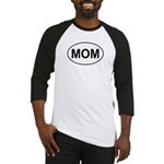 Mom European Oval Mother's Day Baseball Jersey