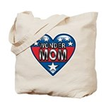 Heart Wonder Mom Mother's Tote Bag