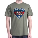 Heart Wonder Mom Mother's Dark T-Shirt