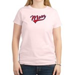 Baseball Style Swoosh Mom Women's Light T-Shirt