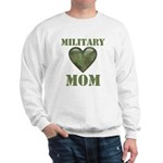 Military Mom Camouflage Camo Heart Sweatshirt
