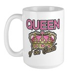 Queen of the Castle Crown Mother Large Mug