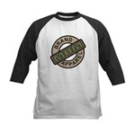 Mom Name Brand Apparel Logo Kids Baseball Jersey