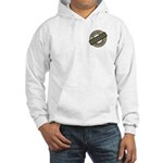 Mom Name Brand Apparel Logo Hooded Sweatshirt