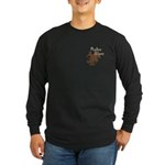 Rodeo Mom Wester Cowboy Cowgirl Long Sleeve Dark T