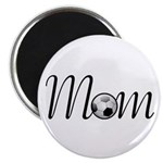 "Pretty Soccer Mom Mother's Day 2.25"" Magnet (100 p"