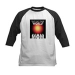 Out of this World Sci-Fi Mom Kids Baseball Jersey