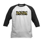 Golden Mom Name Gold Letters Kids Baseball Jersey