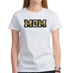Golden Mom Name Gold Letters Women's T-Shirt