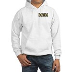 Golden Mom Name Gold Letters Hooded Sweatshirt
