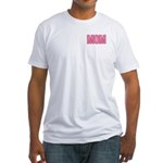 Mom in Pink Mother's Day Fitted T-Shirt