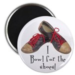 "Funny Bowling 2.25"" Magnet (100 pack)"