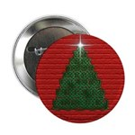 Celtic Christmas Tree Button