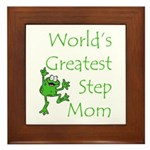 Greatest Stepmom Framed Tile