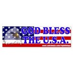 God Bless the U.S.A. Bumper Sticker