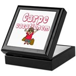 Carpe Vacationem f Keepsake Box