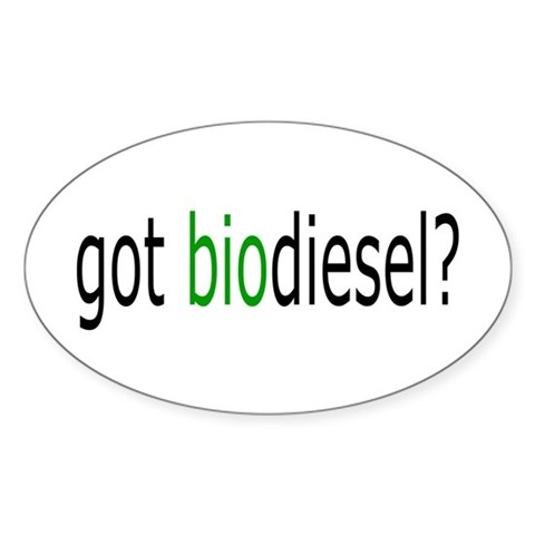 got biodiesel Decal