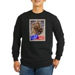 Out of the Way! Long Sleeve Dark T-Shirt