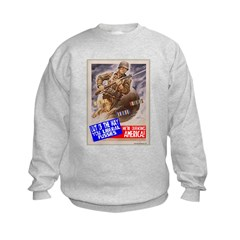 Out of the Way! Kids Sweatshirt