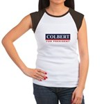 Colbert for President Women's Cap Sleeve T-Shirt