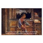 Cicero: God Nature Large Poster
