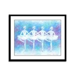 Dance of the Baby Swans Framed Panel Print