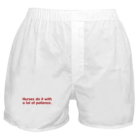 funny boxers. Funny Nurse Boxer Shorts