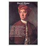 David Hume Philosophy Large Poster