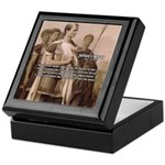 Julius Caesar Pictures Quotes Keepsake Box