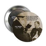 Leo Tolstoy: God Quotes 2.25&quot; Button (100 pack)