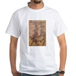 Lao Tzu Philosophy of Tao White T-Shirt