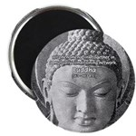 "Buddha Buddhism Quote Picture 2.25"" Magnet (10 pac"