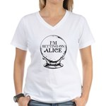 Betting On Alice Women's V-Neck T-Shirt