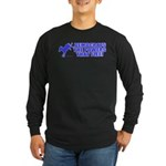 The Powers That Flee Long Sleeve Dark T-Shirt