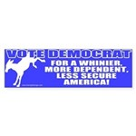 Vote Democrat Bumper Sticker